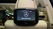 Mercedes E350 CDI launch rear screen