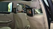 Mercedes E350 CDI launch rear seat