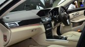 Mercedes E350 CDI launch wood ash dash
