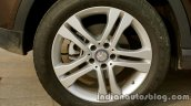 Mercedes GLA alloy wheel on the review