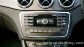 Mercedes GLA audio system on the review