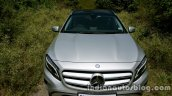 Mercedes GLA bonnet lines on the review