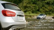Mercedes GLA bootlid on the review