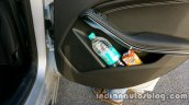 Mercedes GLA bottle holder on the review