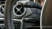 Mercedes GLA cruise control lever on the review