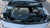 Mercedes GLA engine on the review