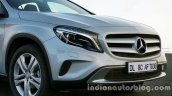 Mercedes GLA face on the review