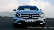 Mercedes GLA front on the review