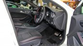 Mercedes GLA front seats at the Indonesia International Motor Show 2014