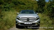 Mercedes GLA front view on the review