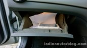 Mercedes GLA glovebox on the review
