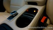 Mercedes GLA illuminated storage space on the review