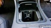 Mercedes GLA mobile phone holder on the review