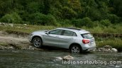 Mercedes GLA off roading 1 on the review