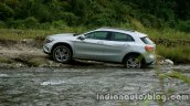 Mercedes GLA off roading 2 on the review