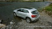Mercedes GLA off roading 3 on the review