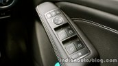 Mercedes GLA power window switches on the review