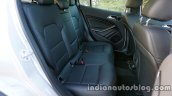 Mercedes GLA rear legroom on the review
