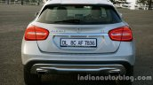 Mercedes GLA rear on the review