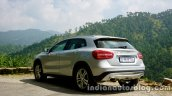 Mercedes GLA rear three quarters 1 on the review