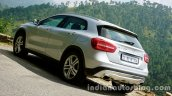 Mercedes GLA rear three quarters 2 on the review