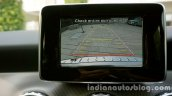 Mercedes GLA reverse camera on the review
