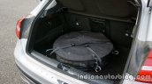 Mercedes GLA spare tire on the review