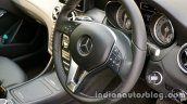 Mercedes GLA steering mounted audio controls on the review