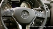 Mercedes GLA steering wheel on the review