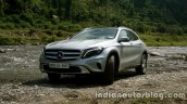Mercedes GLA stream crossing on the review