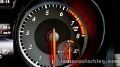 Mercedes GLA tachometer on the review