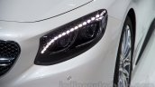 Mercedes S65 AMG Coupe headlamp at Moscow Motor Show 2014