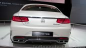 Mercedes S65 AMG Coupe rear at Moscow Motor Show 2014