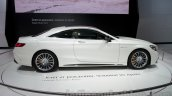 Mercedes S65 AMG Coupe side view at Moscow Motor Show 2014