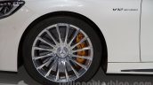 Mercedes S65 AMG Coupe wheel at Moscow Motor Show 2014