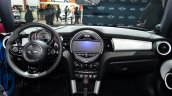 Mini 5 door dashboard at the 2014 Paris Motor Show