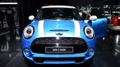 Mini 5 door front at the 2014 Paris Motor Show