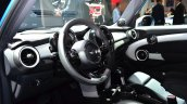 Mini 5 door interior at the 2014 Paris Motor Show