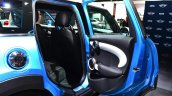 Mini 5 door rear door at the 2014 Paris Motor Show