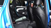 Mini 5 door rear seat at the 2014 Paris Motor Show