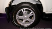 New Mahindra Scorpio alloy wheel Delhi launch