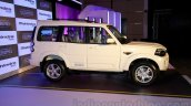 New Mahindra Scorpio front three quarters Delhi launch