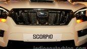 New Mahindra Scorpio grille Delhi launch