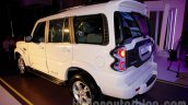 New Mahindra Scorpio rear quarter angle Delhi launch