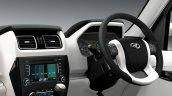 New Mahindra Scorpio steering wheel