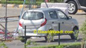 New Maruti Alto K10 facelift revealed rear