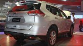 New Nissan X-Trail rear three quarter at CAMPI 2014