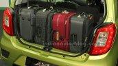 Perodua Axia boot at the Malaysian launch