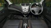 Perodua Axia dashboard at the Malaysian launch