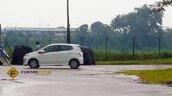 Perodua Axia spied in Malaysia Advance side